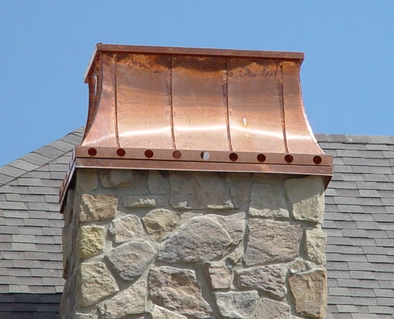 Copper Chimney Cap Dti Utah