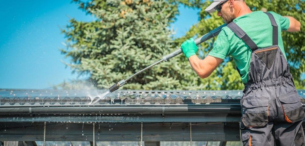 spring rain gutter maintenance